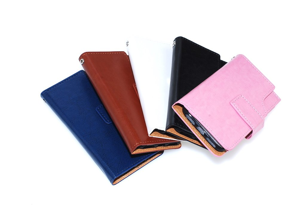 Wallet Case double flap / iPhone 7 / Assorted colors
