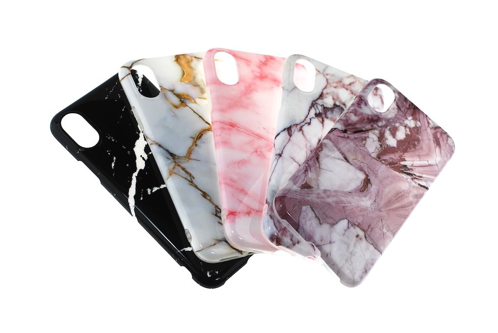 Protective marble gel / iPhone 7 & 8 Plus / Assorted design