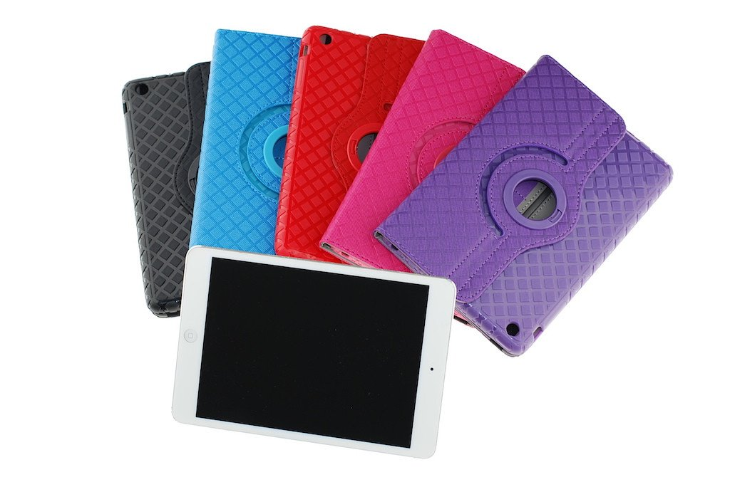 Swivel case / iPad mini (2-3) / Assorted colors
