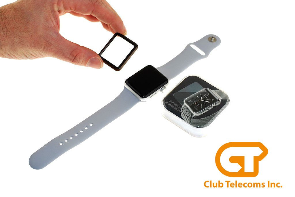 Verre trempé protecteur / Apple Watch 3