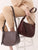 Adam Italian Leather Hobo Handbag