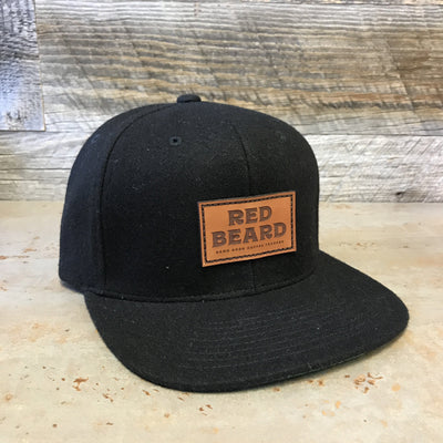 Red Beard Melton Wool Snapback