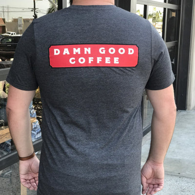Damn Good Coffee Sign Logo Shirt