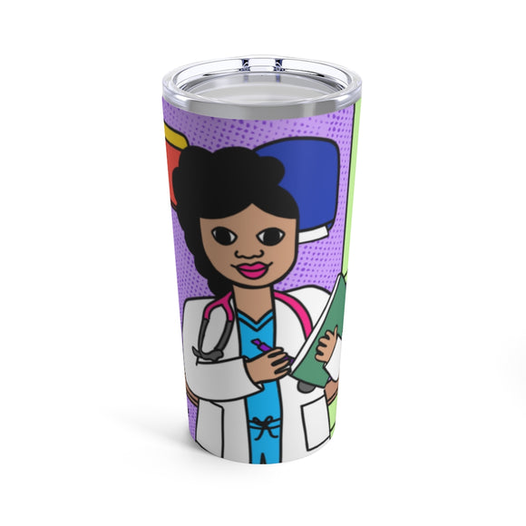 Medical Professional Doctor/Nurse Cocoa Cutie Kiara Tumbler 20oz