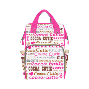 I Heart Cocoa Cutie Pink Diaper Bag