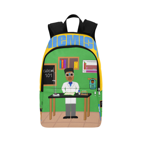 Chemist Canvas Backpacks(Three Skin Tones)-Boy