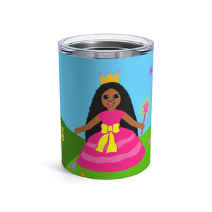 "Princess ""Jordyn"" Stainless Steel KidsTumbler 10oz"