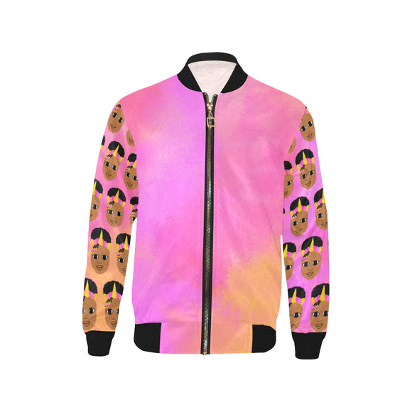 Unicorn Jordyn Kid's Bomber Jacket