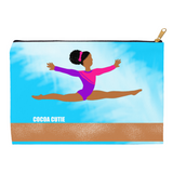 Gymnast Jordyn Carry-All Accessory Pouch Cosmetic Bag(Two Sizes)