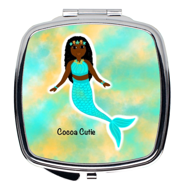 Blue Mermaid(Yanna) Cocoa Cutie Compact Mirror