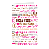 I Heart Cocoa Cutie PINK Note Card Set