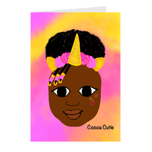Unicorn Cocoa Cutie Note Card Set(Yanna)