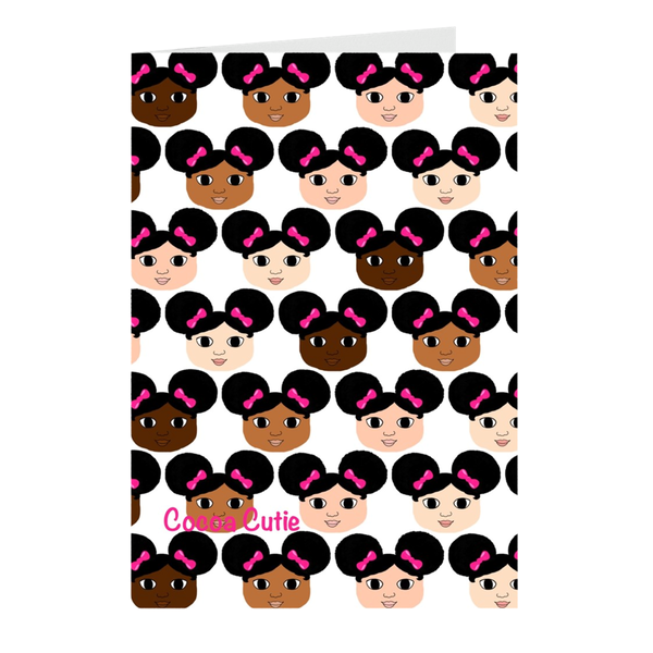 Cocoa Cuties Note Card Set