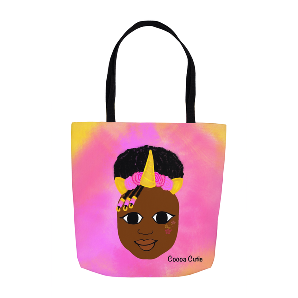 Unicorn(Yanna) Shoulder Tote Bags-Dark Skin