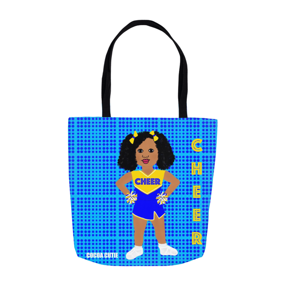 Cheerleader(Shari) Cocoa Cutie Shoulder Tote Bags