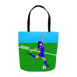 Soccer(Kiara) Cocoa Cutie Tote Bags- Medium Light Skin