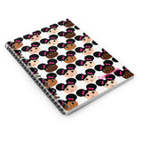 Cocoa Cuties Spiral Notebook - Ruled Line