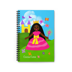Princess Yanna Cocoa Cutie Spiral Notebook - Ruled Line