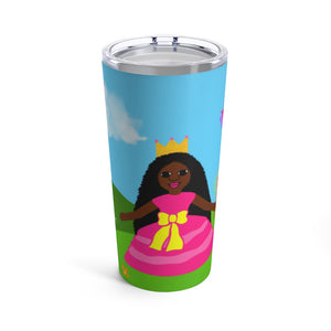Princess Yanna Cocoa Cutie Stainless Steel Tumbler 20oz