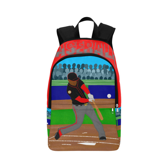Baseball Cocoa Cutie Canvas Backpacks(3 Skintones)-Boy