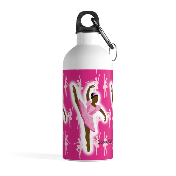 Pink Ballerina Yanna Stainless Steel Water Bottle
