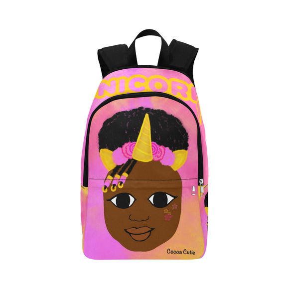 Unicorn Cocoa Cutie Canvas Backpacks(2 Skintones)