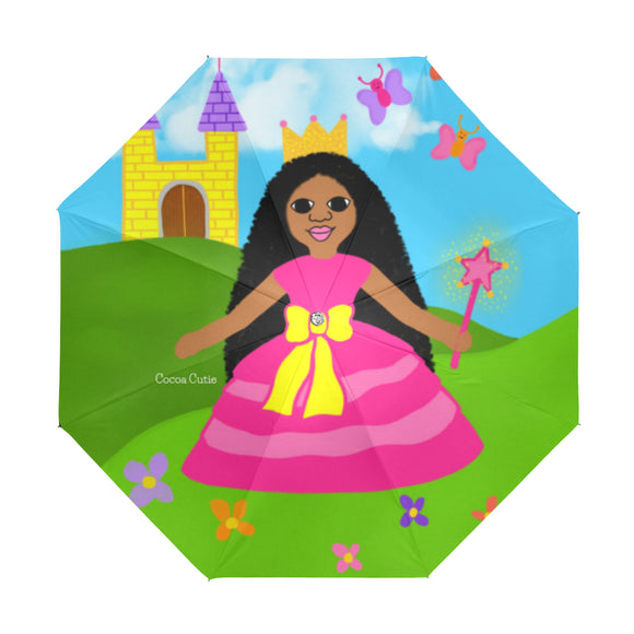 Princess Jordyn Anti-UV Foldable Umbrella