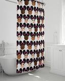 "Cocoa Cuties Shower Curtain 72""x72"""