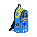 Cheerleader Cocoa Cutie Canvas Backpack(Shari)