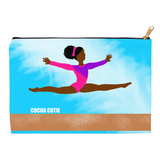Gymnast Yanna Carry-All Accessory Pouch Cosmetic Bag(Two Sizes)