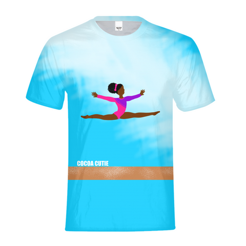 GYMNAST YANNA COCOA CUTIE Kids Performance Tee