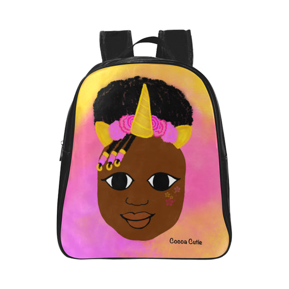 Unicorn Preschool/Toddler Faux Leather Mini Backpacks(Two Designs)