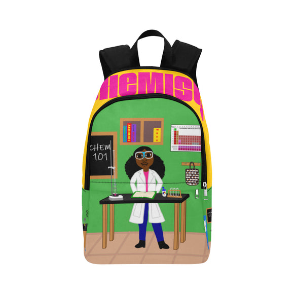 Chemist Cocoa Cutie Canvas Backpacks(2 Skintones)-Girl