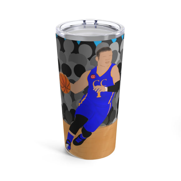 Basketball Caleb Cocoa Cutie Stainless Steel Tumbler 20oz