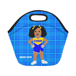 Shari Cocoa Cutie Cheerleader Lunch Tote Neoprene