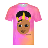 UNICORN JORDYN COCOA CUTIE Kids Performance Tee