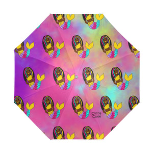 Be A Mermaid Yanna Anti-UV Foldable Umbrella
