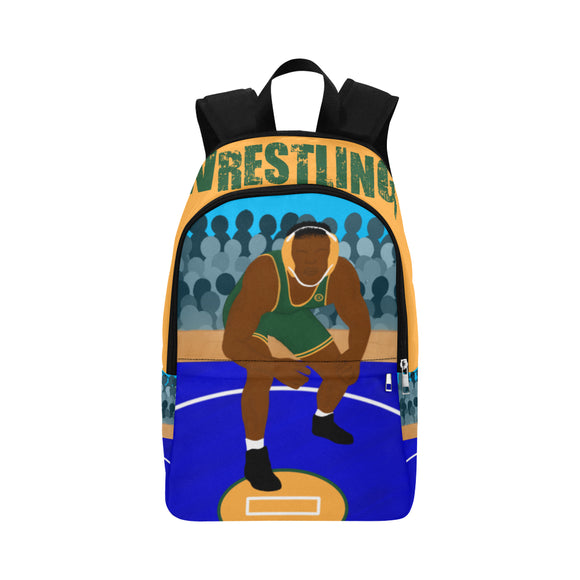 Wrestler Canvas Backpack-Boy