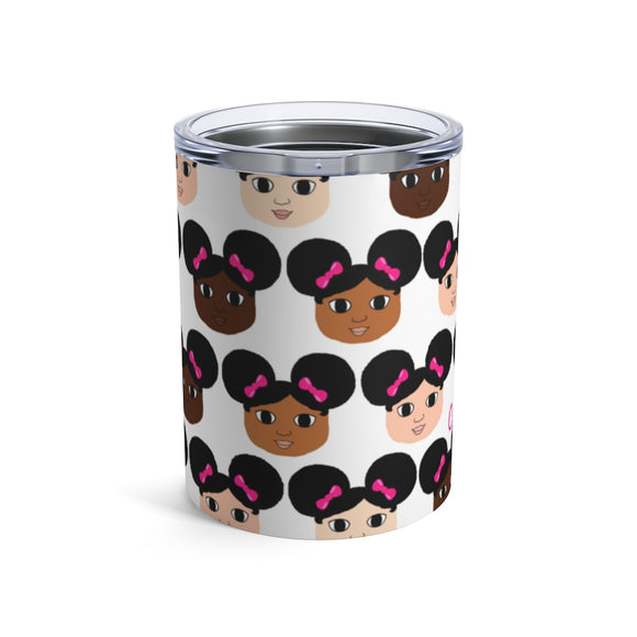 Cocoa Cuties Kids Stainless Steel Tumbler 10oz