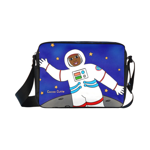 Astronaut Cocoa Cutie Kid's Crossbody Travel Bag