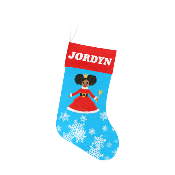 Christmas Princess Jordyn Christmas Stocking Cocoa Cutie