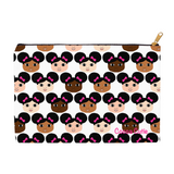 Cocoa Cuties Carry-All Accessory Pouch Cosmetic Bag(Two Sizes)