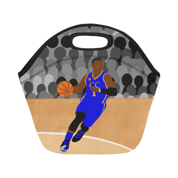 Basketball Cocoa Cutie Neoprene Lunch Totes(2 Skintones)-Boy