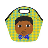 """I AM"" Cocoa Cutie Lunch Totes Neoprene(2 Skintones)-Boy"
