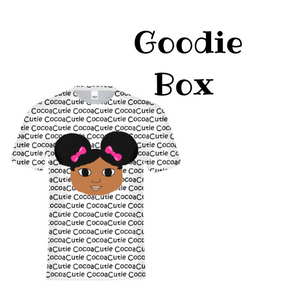"Afro Puffs ""Jordyn"" Cocoa Cutie Goodie Box GIFT SET"