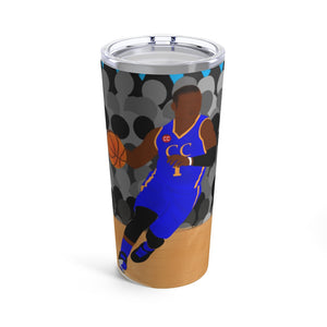 Basketball Jayden Cocoa Cutie Stainless Steel Tumbler 20oz