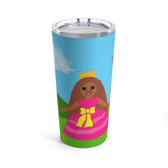 Princess Laila Cocoa Cutie Stainless Steel Tumbler 20oz