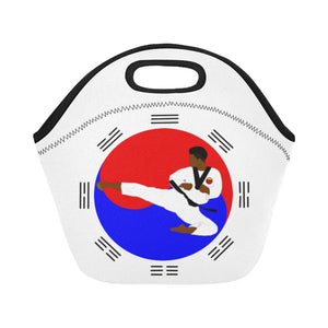 Taekwondo Cocoa Cutie Lunch Tote(2 Colors)-Boy