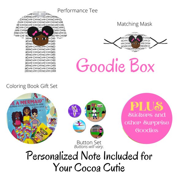 PRE-ORDER Afro Puffs(Original) Cocoa Cutie GOODIE BOX+ RECEIVE FREE $10 GIFT CARD