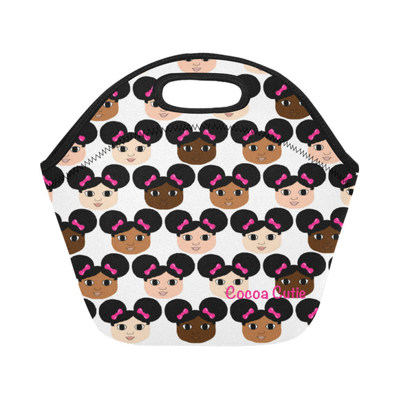 Cocoa Cuties Lunch Tote Neoprene